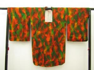 膨れ織コート